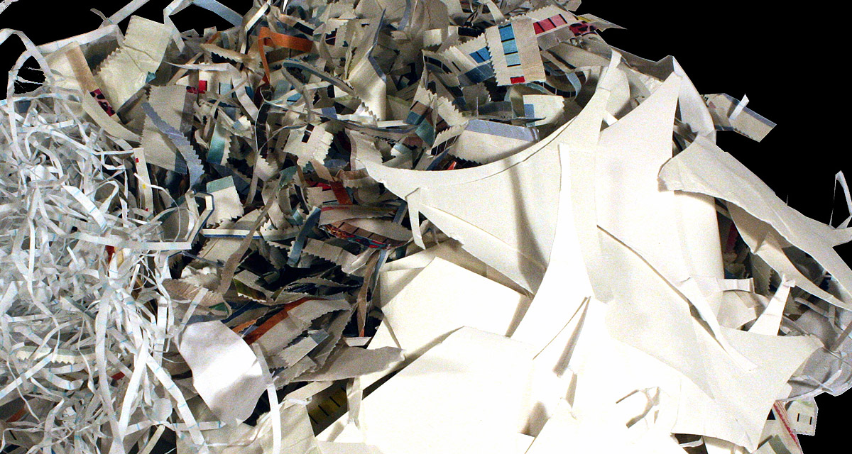 Fondo basura papel