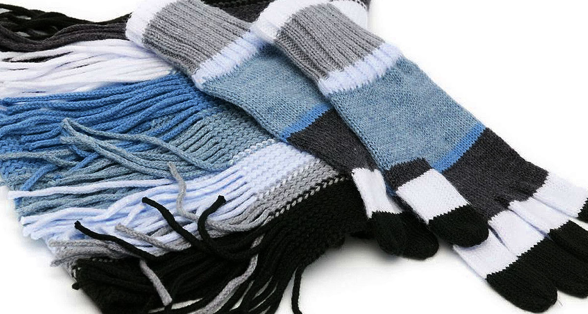 Fondo ropa de invierno