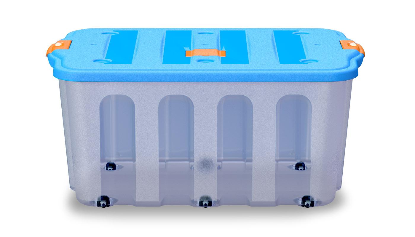 BigBox transparente + azul frente