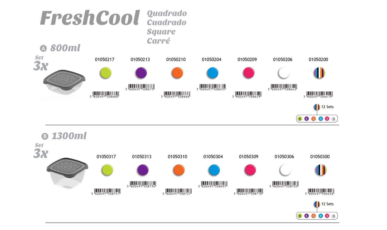 FreshCool Quadrados