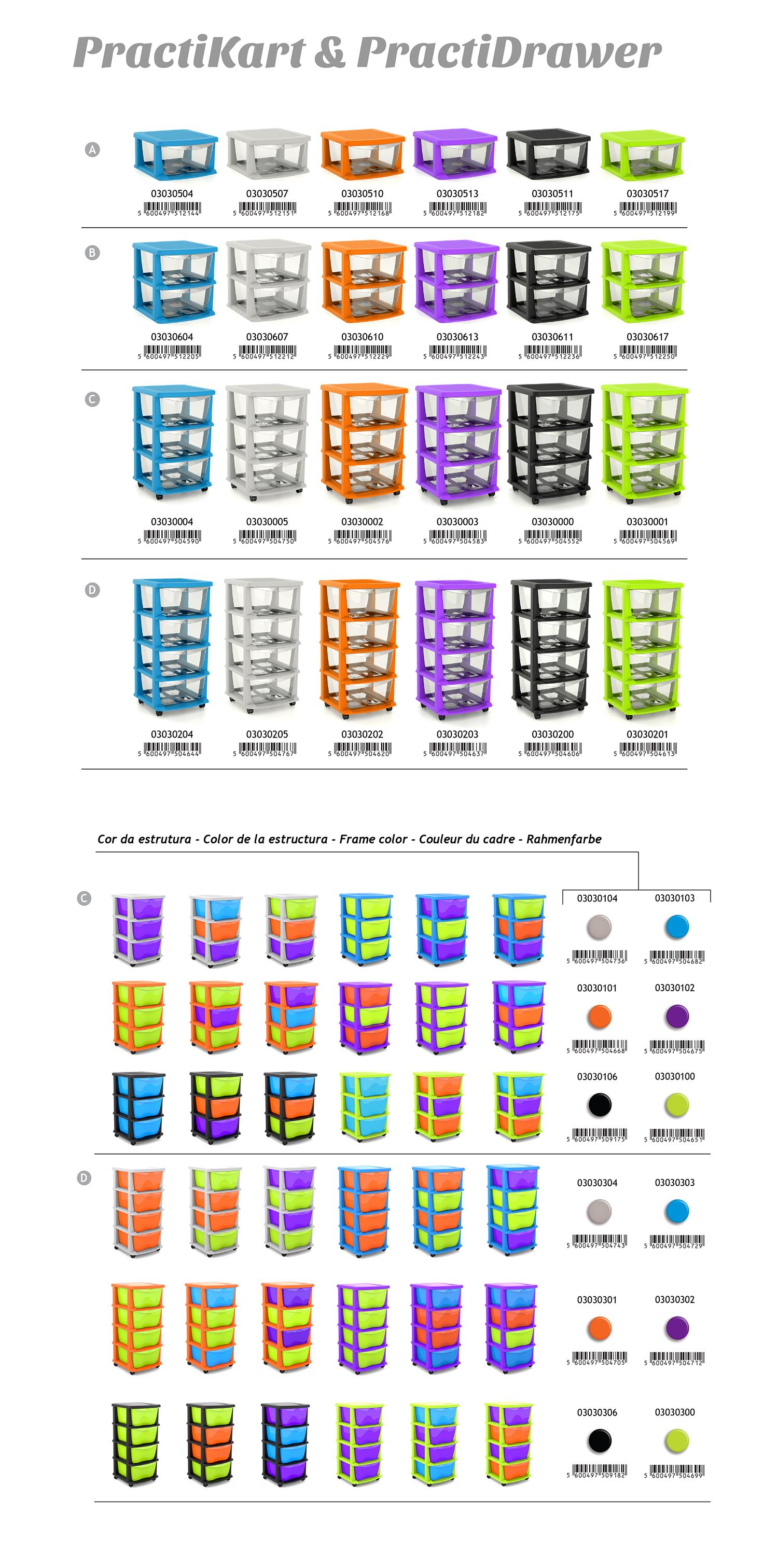 PractiKart Colores