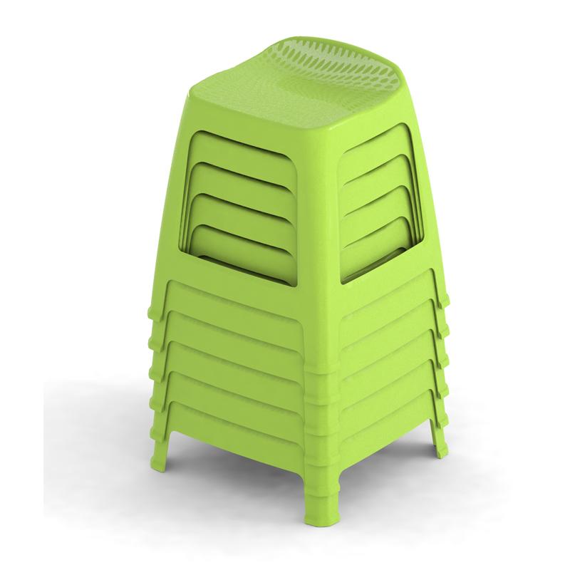 MaxiBanco apilados verde