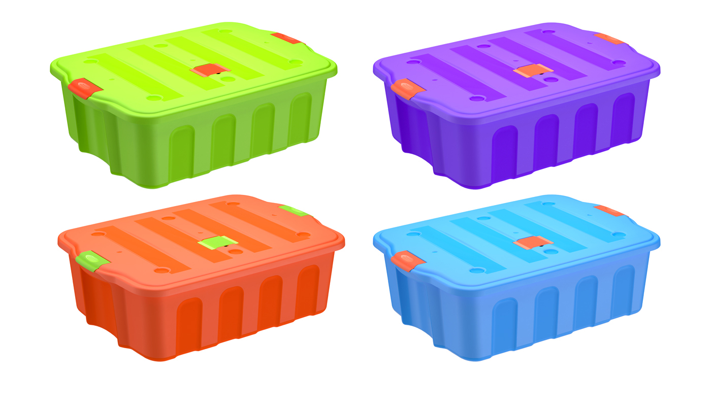 BigBox 78 litros gama color